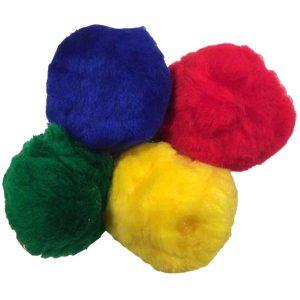 fleeceballen (DISC kleuren)